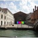 Venice Biennale 2012: Mexico Pavilion restores Venetian Church (5) Photo Montage of Pavilion Entry
