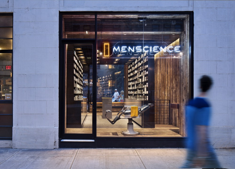 MenScience Flagship Store / HWKN