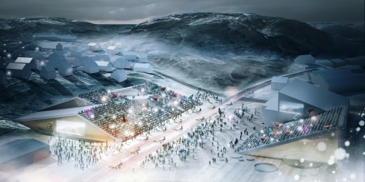 Migrating. Sports Plaza, Winter / Possible Greenland; Courtesy of DAC