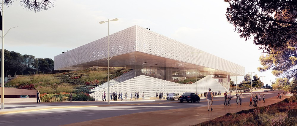 National Library of Israel Competition Entry / ODA