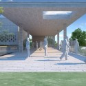 Sisli Halide Edip Adivar Mosque and Social Complex Winning Proposal (5) Courtesy of Kolektif Mimarlar
