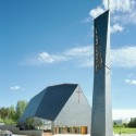 Lassila Hirvilammi Architects - Kuokkala Church in Jyvskyl, Finland - 03 - Photo by Jussi Tiainen Kuokkala Church; Jyvskyl, Finland / Lassila Hirvilammi Architects  Jussi Tiainen