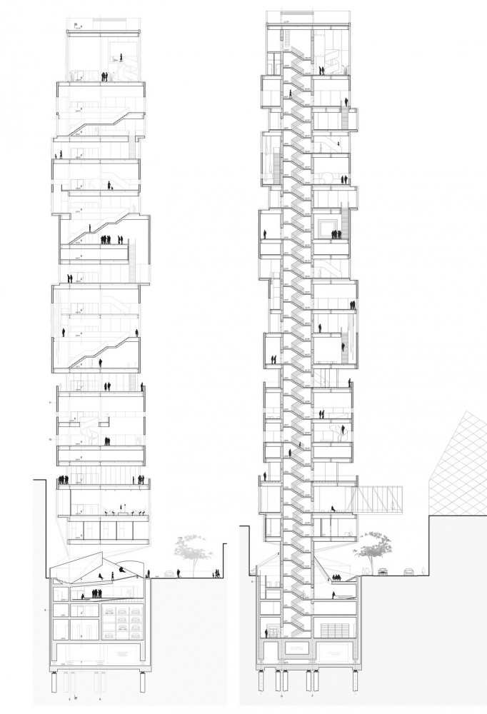 Tokyo Fashion Museum Proposal / MUS Architects