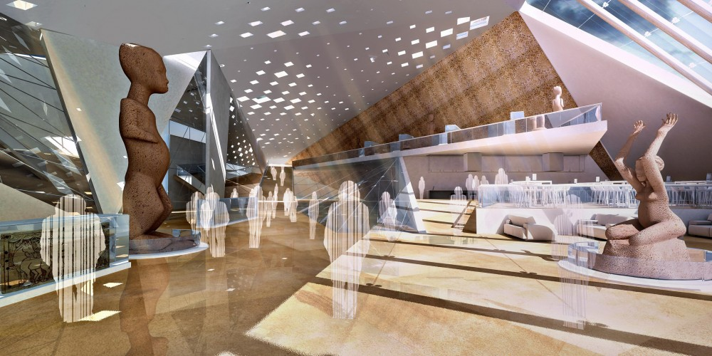 National Museum of Afghanistan Proposal / RMC Architects & Engineers