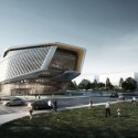 Dalian Planning Museum / 10 Design (2) Courtesy of 10 Design