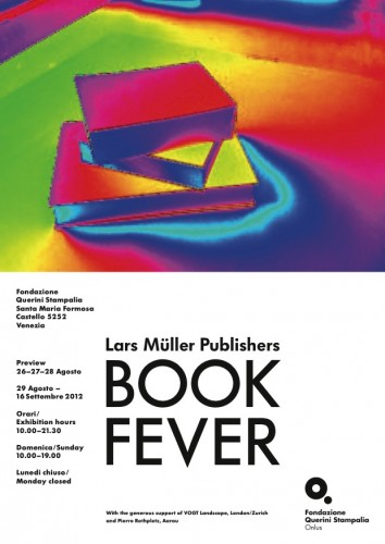 "Venice Biennale 2012: ""Lars Müller Publishers - Book Fever"" (1) Courtesy of Lars Müller Publishers"