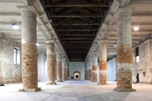 The Corderie at the Arsenale © La Biennale di Venezia