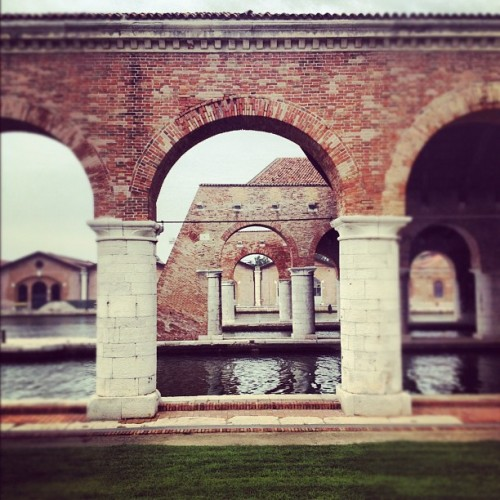 The Arsenale, one of the venues of the Biennale