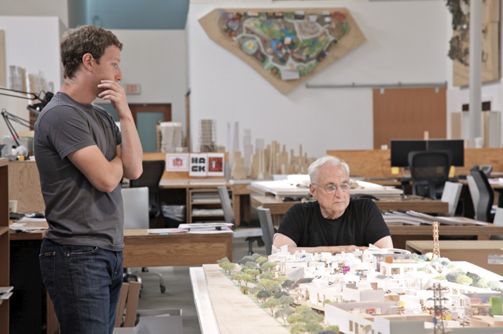 Facebook + Frank Gehry