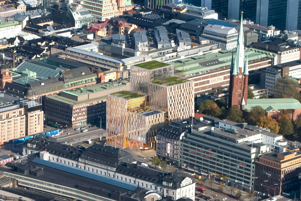 Stockholm City Station / 3XN Architects