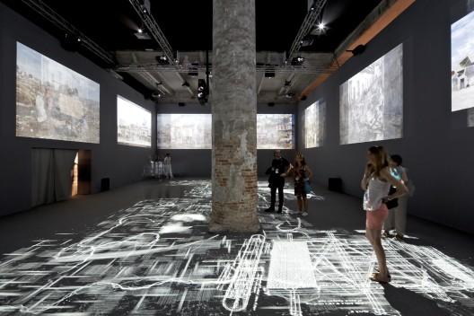 Venice Biennale 2012: Norman Foster (11) © Nico Saieh