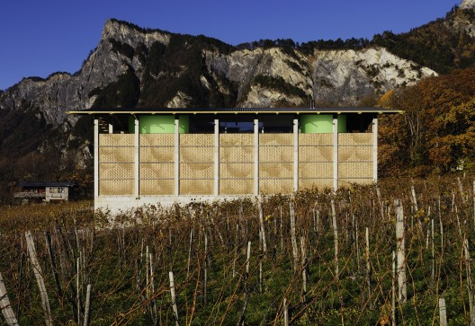 Winery Gantenbein /  Gramazio &amp; Kohler + Bearth &amp; Deplazes Architekten  Ralph Feiner