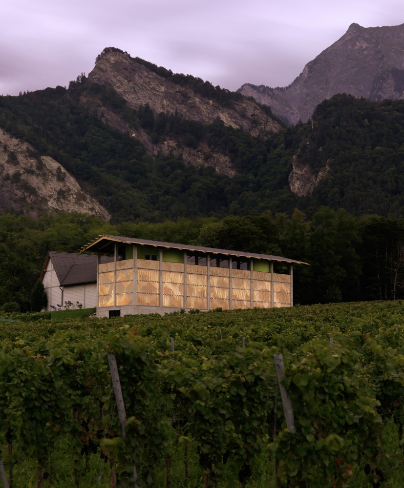 Winery Gantenbein / Gramazio &#038; Kohler + Bearth &#038; Deplazes Architekten