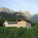 Winery Gantenbein /  Gramazio & Kohler + Bearth & Deplazes Architekten Courtesy of Gramazio & Kohler