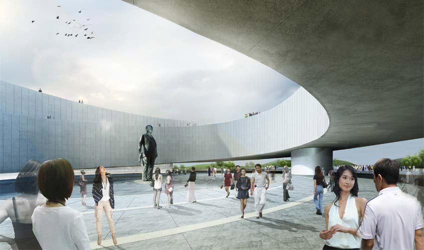 In Progress: Samaranch Memorial Museum / Archiland Beijing + HAO (Holm Architecture Office)