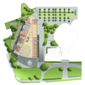 Solvay Brussels School / Art&Build Architecs Site Plan 01