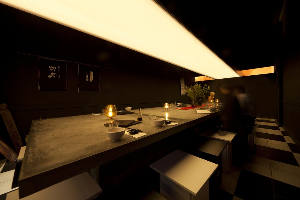 Uchi Lounge 01 / Facet Studio