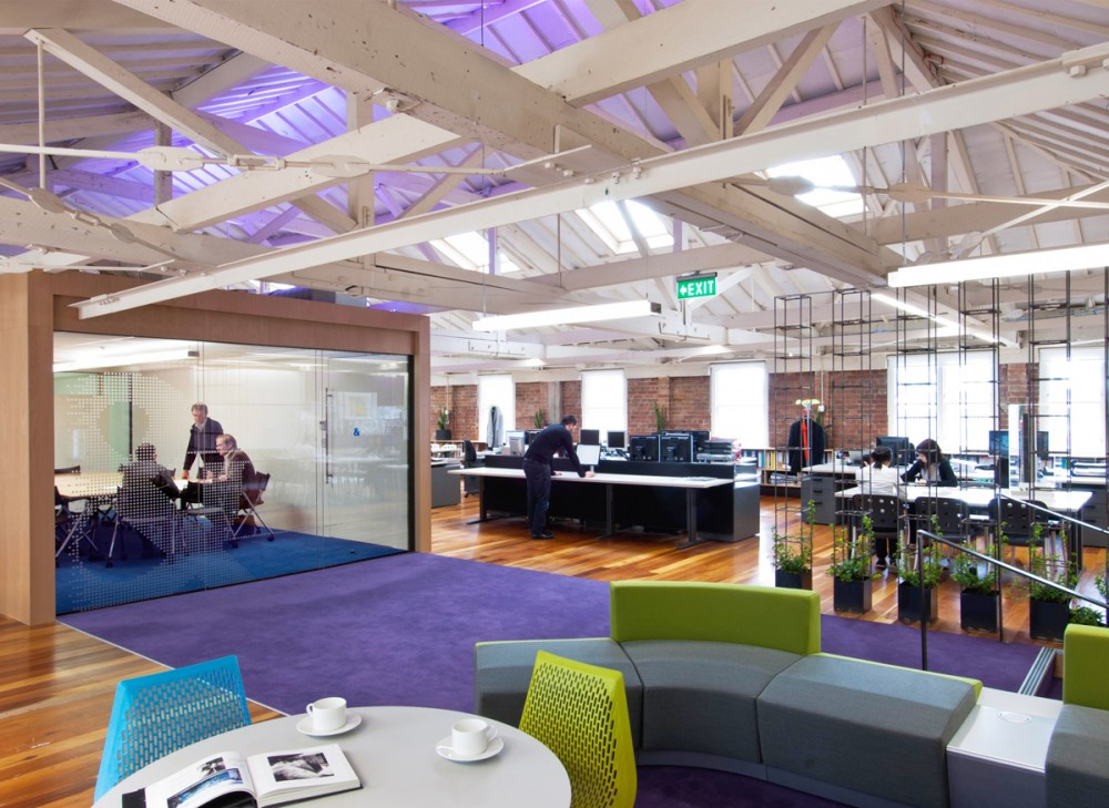 Stephenson &#038; Turner Wellington Design Studio &#8211; Fit Out / Stephenson&#038;Turner