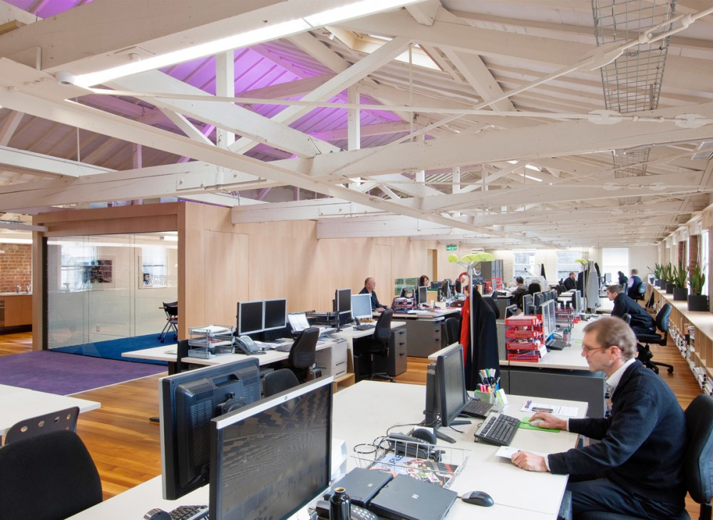 Stephenson & Turner Wellington Design Studio – Fit Out / Stephenson&Turner