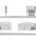Green Houses / Sander Architects Elevation 02