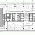 Unicredit Ţiriac Bank HQ / Westfourth Architecture First Floor Plan 01