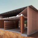 In Progress_School Library Gando / Kere Architecture Courtesy of Kere Architecture