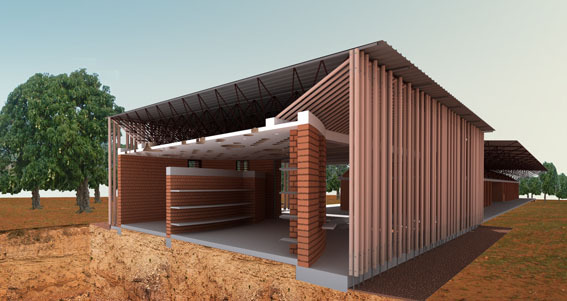In Progress: School Library Gando / Kere Architecture
