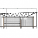 In Progress_School Library Gando / Kere Architecture Section 01