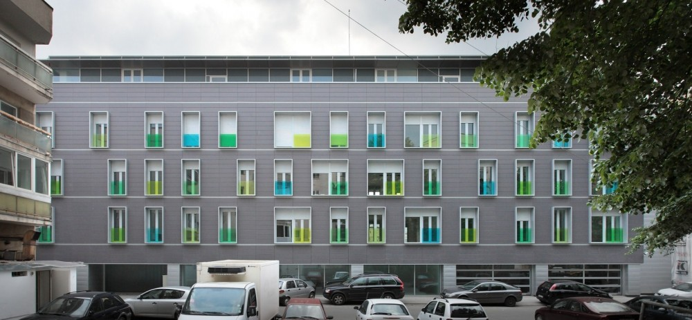 Apartment Building on G.Călinescu Street / Westfourth Architecture