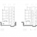 Apartment Building on G.Călinescu Street / Westfourth Architecture Sections 01
