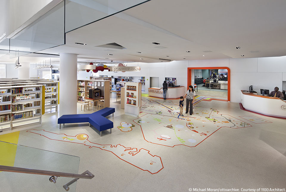 Children's Library Discovery Center / 1100 Architect