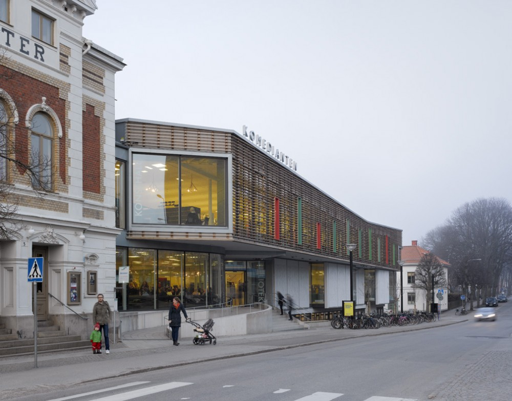 Komedianten Cultural Center / Nyrns Arkitektkontor