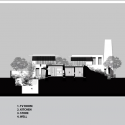 Retreat in the South-Indian Countryside / Mancini Section 02