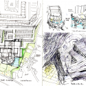 Ofunato Civic Center and Library / Chiaki Arai Urban and Architecture Design Sketch 01