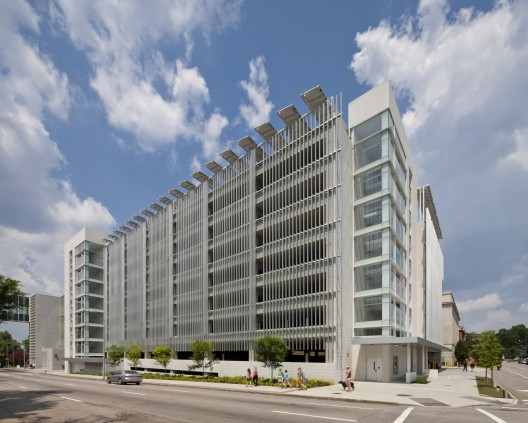 Green Square Parking Deck / Pearce Brinkley Cease + Lee © Jonathan Hillyer