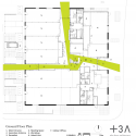 Green Incubator / Plus Three Architecture Plan 01