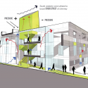 Green Incubator / Plus Three Architecture Elevation 02