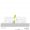 Green Incubator / Plus Three Architecture Elevation 06