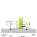 Green Incubator / Plus Three Architecture Section 01