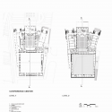 Nanjing Conference Center / tvsdesign 1st And 2nd Floor Plans 01