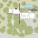 West Lake Hills Residence / Specht Harpman Site Plan 01