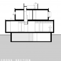 Wentworth Rd House / Edward Szewczyk Architects Cross Section 01