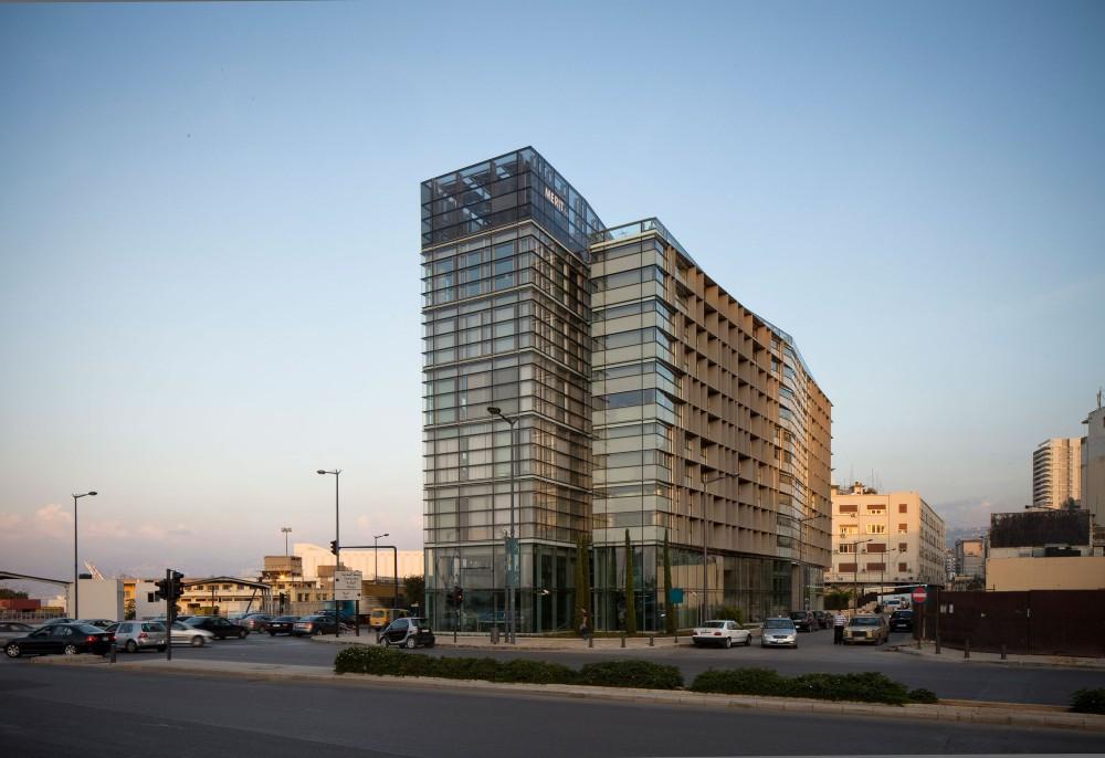 Architecture photography cma cgm headquarters nabil for Office design hamra