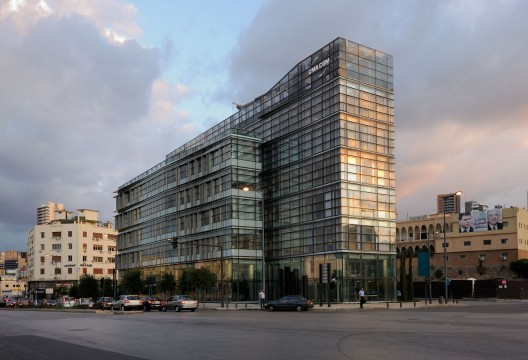 CMA-CGM Headquarters / Nabil Gholam Architects  Geraldine Bruneel