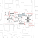 Yutenji Apartments / Koh Kitayama + architecture WORKSHOP Plan 02
