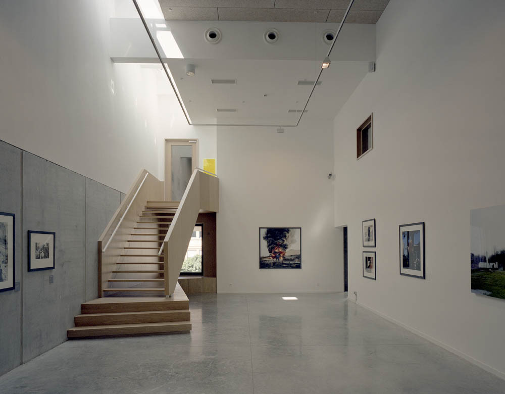 New wing of the Charleroi Museum of Photography / LEscaut Architectures