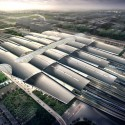 Guangzhou South Railway Station / TFP Farrells Courtesy of TFP Farrells