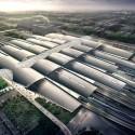 Guangzhou South Railway Station / TFP Farrell Cortesía de la PTF Farrell