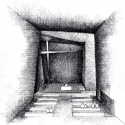 Holy Redeemer Church  / Menis Arquitectos Interior Sketch 01