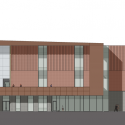GateWay Community College / SmithGroup JJR North Elevation 01